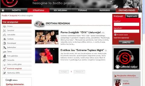 Erotinių renginių naujienos