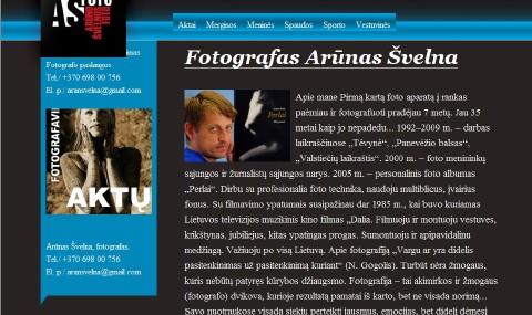 Fotografas Arūnas Švelna