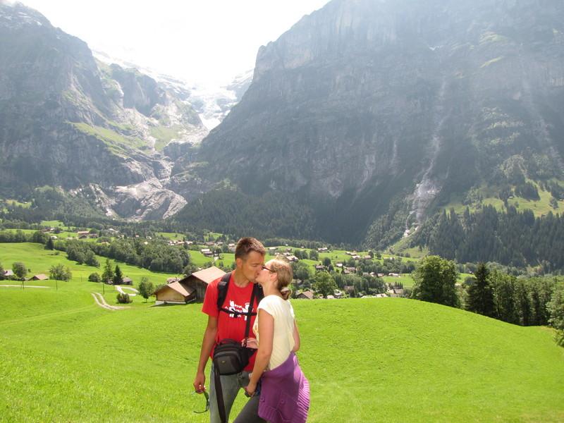 Saldžiausi bučiniai Šveicarijos kalnuose :*