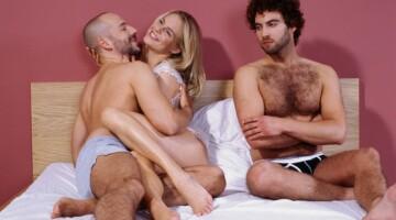 Seksas trise: malonumas, griaunantis poros santykius?