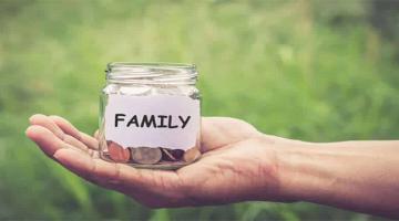 Pinigai šeimoje