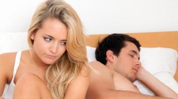 Vyras nenori sekso? Galimos priežastys