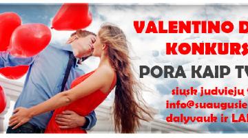 Valentino dienos konkursas Pora kaip tvora!